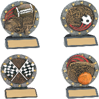 Small All Star Resin Awards