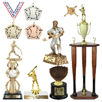 Baseball Trophies and Awards