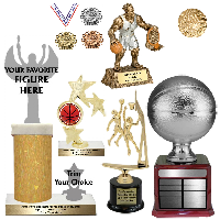 Basketball Trophies and Awards
