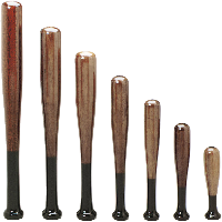 Baseball Bat Trophy Columns