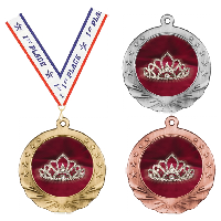 Beauty Pageant Medals