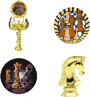 Chess Trophy Parts