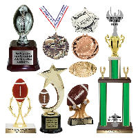Football Trophies and Awards