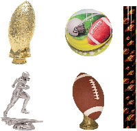 Football Trophy Parts