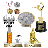 Gymnastic Trophies and Awards