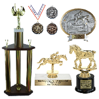 Horse Equestrian Trophies and Awards