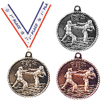 Martial Arts Karate Medals