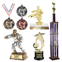 Martial Arts Karate Trophies and Awards