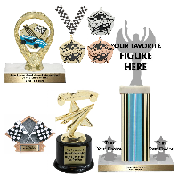 Pinewood Derby Trophies and Awards