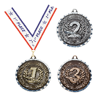 Pool Billiards Medals