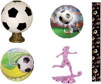 Soccer Trophy Parts