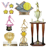Softball Trophies and Awards