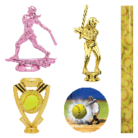 Softball Trophy Parts