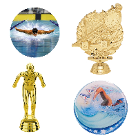 Swimming Trophy Parts