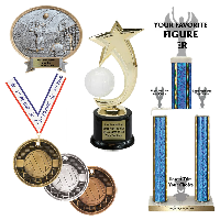 Volleyball Trophies and Awards