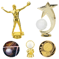 Volleyball Trophy Parts