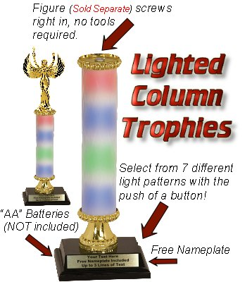 Lighted Trophy