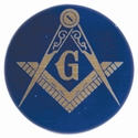 "MASONIC LODGE 2"" Mylar Insert"