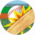 "2"" Motion Mylar Baseball"