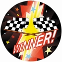 "2"" 3D Motion Trophy Insert - Race Flag"