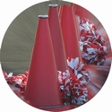 "2"" CHEERLEADNG Photo Mylar"