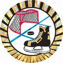 "2"" Sunburst Hockey Mylar"