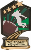 "5.5"" - Football Graphic Sport Resin Award"
