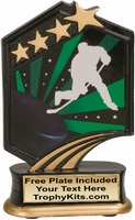 "5.5"" - Hockey Graphic Sport Resin Award"