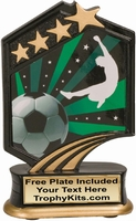 "5.5"" - Soccer Graphic Sport Resin Award"