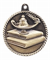 High Relief Lamp of Knowledge Medal