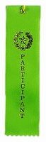 Participant Award Ribbon with card
