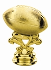 "Gold 2-3/4"" Football Trophy Trim Piece"