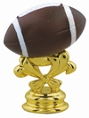 "Color 2-3/4"" Football Trophy Trim Piece"