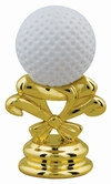"2-5/8"" Color Golf Ball Trophy Trim Piece"