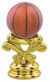 "2-5/8"" Color Basketball Trophy Trim Piece"