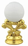 "2 5/8"" Color Volleyball Trophy Trim Piece"