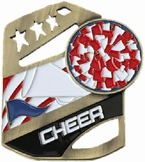 Cheer Cobra Kickstand Gold Award Medal