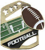 Football Cobra Kickstand Gold Medal