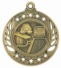 Galaxy Swim Medal