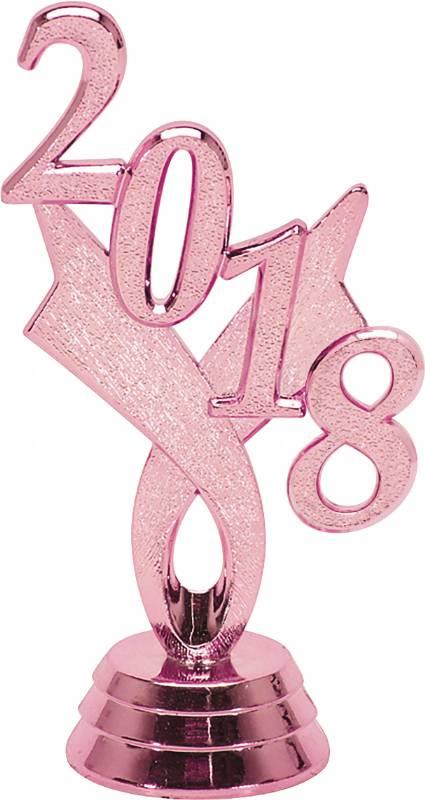 3 1 4 pink 2018 year date trophy trim piece trophy trim dates