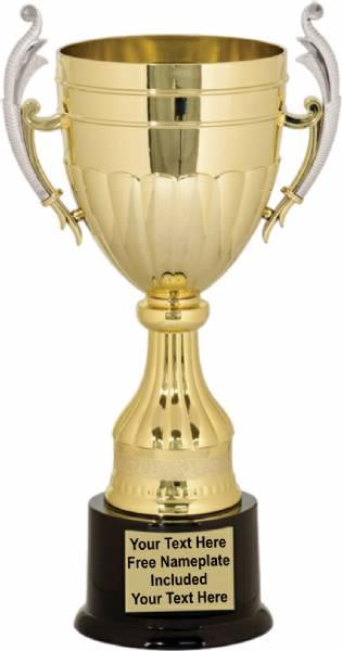 13 Quot Gold Plastic Trophy Cup 200 Series Plastic Trophy