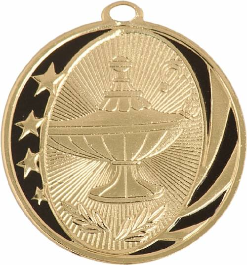 Midnite Star Lamp Of Knowledge Award Medal Midnite Star