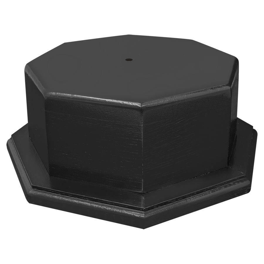 WRESTLING  trophy wide black column black base
