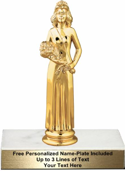 6 1  4 u0026quot  beauty queen trophy kit