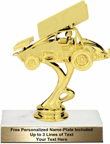 Race Car Trophy >> 5 3 4 Sprint Car Trophy Kit Racing Trophies And Awards From