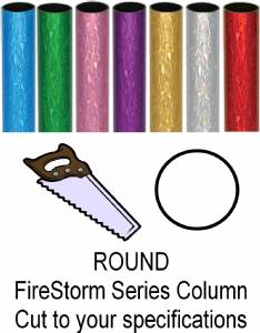 Round FireStorm Trophy Column - Cut to Length