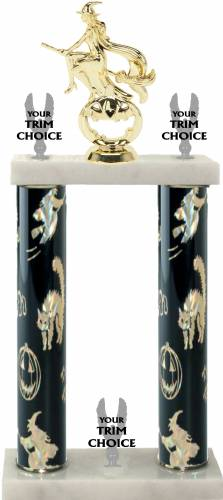 Halloween Double Column Trophy Kit #2