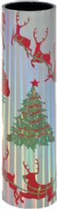 "18"" Christmas Round Trophy Column"