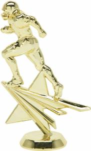 "6 1/4"" Football Star Series Trophy Figure Gold"