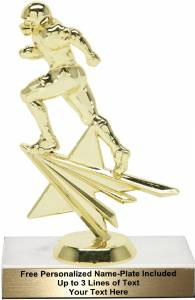 "7"" Football Star Series Trophy Kit"